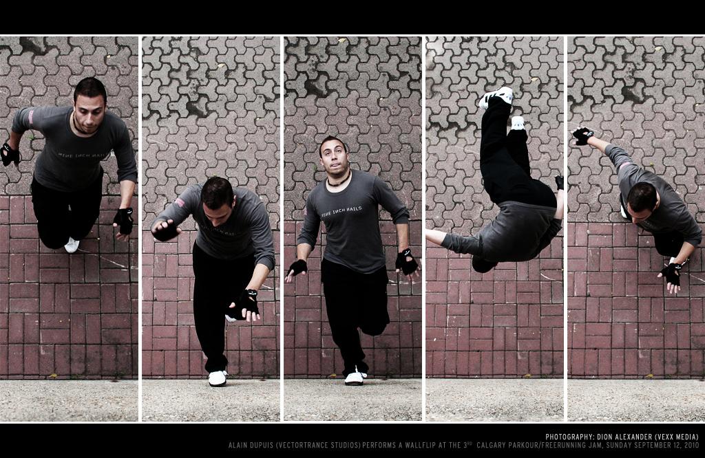 Wall-flip